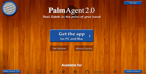 PalmAgent - Number One Net Sheet And Closing Cost Software For Realtors