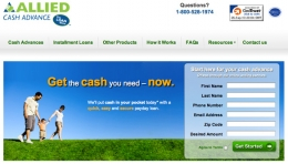 ALLIED CASH ADVANCE - A complete financial solution